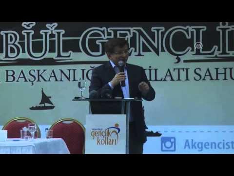 Ahmet Davutoğlu'nun Efsane Konuşması.