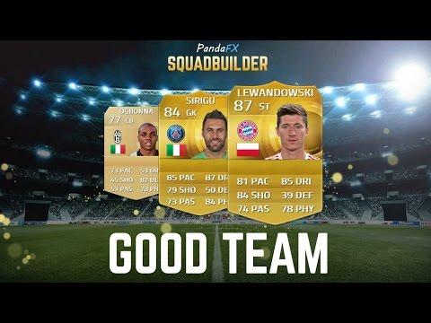 SQUAD BUILDER FIFA 15 (GOOD TEAM)