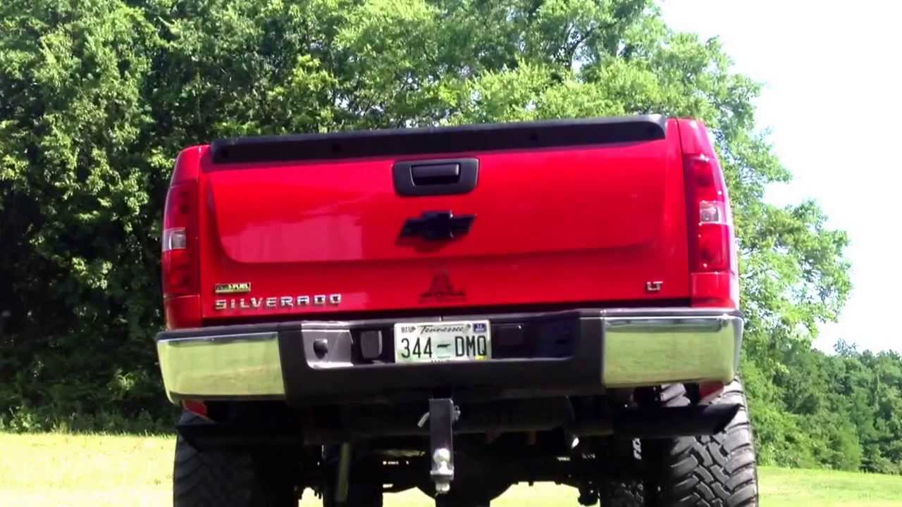 2009 Silverado Straight Pipes With Cats Youtube