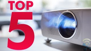 TOP 5 Best Projector Ultra HD Smart Laser TV 2019 [UNDER $250]