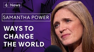 Samantha Power on disagreeing with Barack Obama, Syria and being an idealist