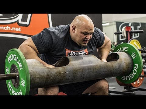 Log Press Tips from World's Strongest Man Brian Shaw