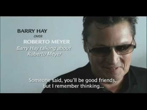 Barry Hay over Roberto Meyer (Grolsch)
