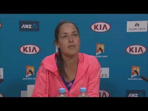 Ana Ivanovic press conference - Australian Open 2015