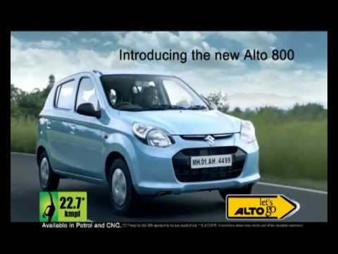 The New ALTO 800 latest TVC - Its the time to...