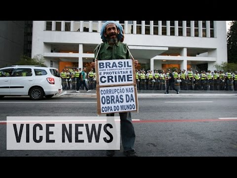 RAW COVERAGE: World Cup Protests in Rio de Janeiro