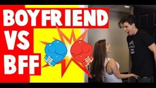 BOYFRIEND VS BESTFRIEND | Amanda Cerny