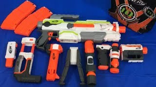Toy Blasters Nerf Modulus Blaster with Attachments Toy Weapons
