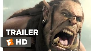 Video clip Warcraft Official Trailer #2 (2016) -  Travis Fimmel, Clancy Brown Movie HD