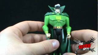 Toy Spot - Justice League Unlimited Fan Collection Justice Guild Green Guardsman
