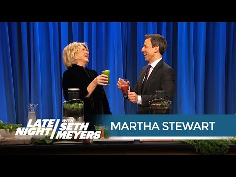 Juicing with Martha Stewart, Part 2 - Late Night with Seth Meyers