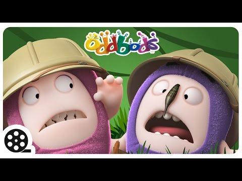 Oddbods | Jungle Mania | Funny Animal Cartoons