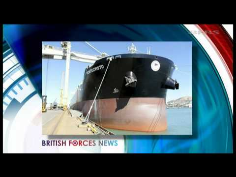 British forces help free ship hijacked by Somali pirates 11.10.11
