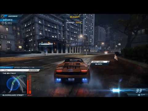 Need For Speed Most Wanted 2012 Perseguição Nivel 6