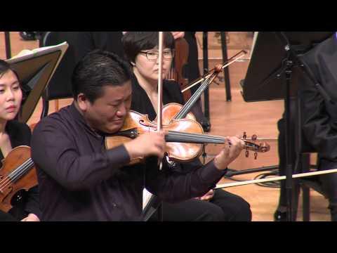 바이올리니스트 김응수 공연 실황 영상