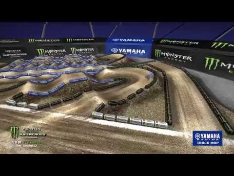 2018 Yamaha Track Map: San Diego