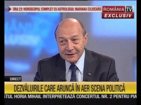 """Traian Băsescu, la """"Ediţie Specială"""" - România TV. Moderator, Simona Gheorghe"""