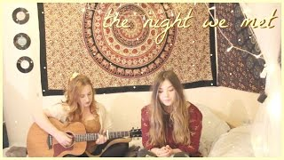 Download Lagu the night we met - lord huron cover 💛 (roxysdaydream & shannon st. clare) Gratis STAFABAND
