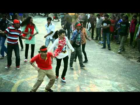 ICC World Twenty 20 Bangladesh 2014, Flash Mob - SUST