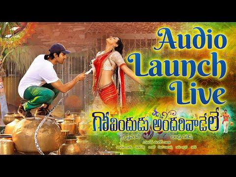 Govindudu Andarivadele Audio Launch LIVE - Ram Charan, Kajal Aggarwal, Yuvan Shankar Raja