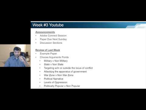 PSSL 6240 Political Violence and Terrorism Week #3