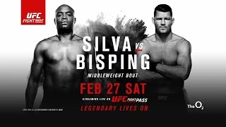 UFC Fight Night 84 - Silva vs. Bisping preview