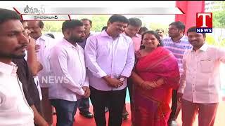 Live Report - MP Santhosh Kumar Attend Apex Golden Education Fair 2018 - Hyderabad  live - netivaarthalu.com