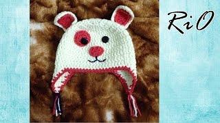 [Crochet] Puppy Hat | Hướng dẫn móc mũ Puppy dễ thương cho bé