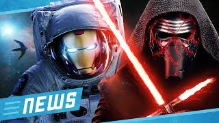 NASA rettet Iron Man & Star Wars Episode 9 Trailer noch zu Weihnachten - Flipps News