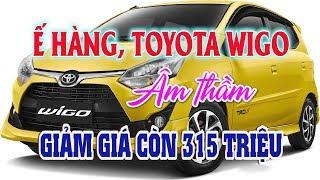 Toyota Wigo ế hàng âm thầm giảm giá còn có 315 triệu đồng | Thị trường ô tô xe máy