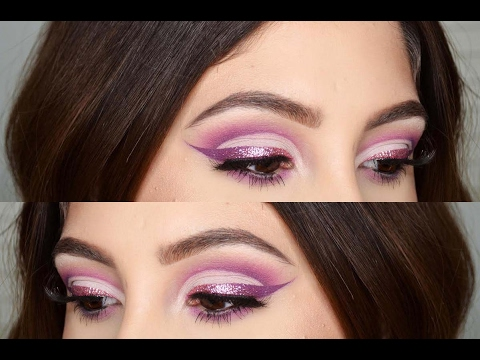 Girly Valentines Day Cut Crease