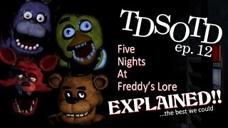 Five Nights At Freddy's Lore EXPLAINED - THE DARKER SIDE OF THE DISC