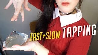 ASMR Fastest & Slow Tapping (No Talking)