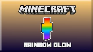 RAINBOW GLOW in only one command! [Minecraft 15w44a]