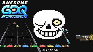 Clone Hero (Guitar Hero) by FrostedGH in 51:32 - AGDQ2020