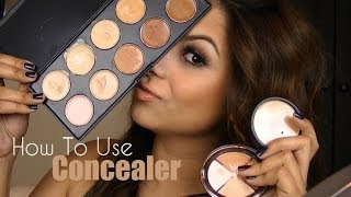 BASICS: How To Use A Concealer ft Sedona Lace