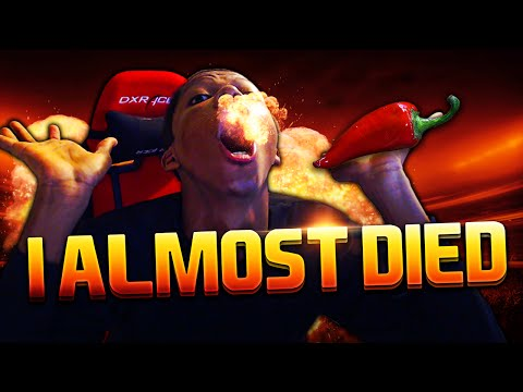 I ALMOST DIED !! WORLD'S HOTTEST CHILI PEPPER CHALLENGE