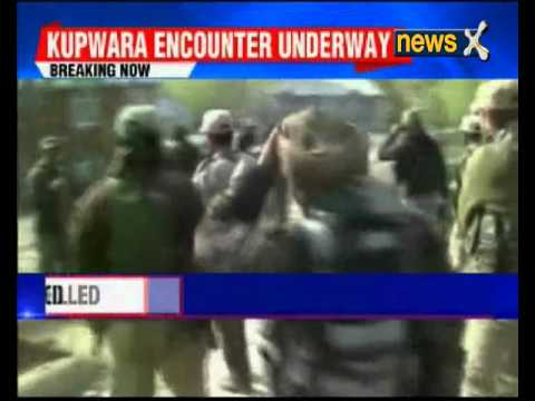 Gunbattle on in Kupwara, 2 terrorists killed