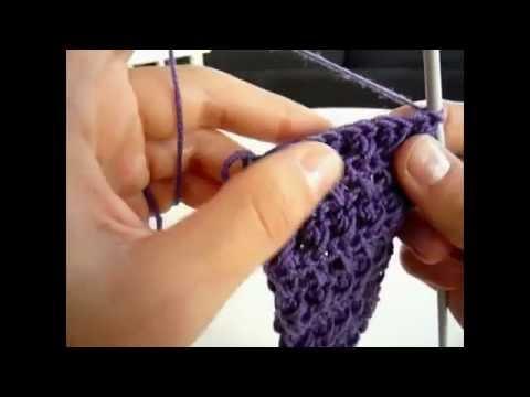 Cómo hacer una banda para el pelo o diadema en crochet / ganchillo