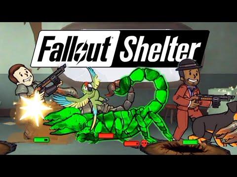 Fallout Shelter - Обзор Хардкорных Миссий!