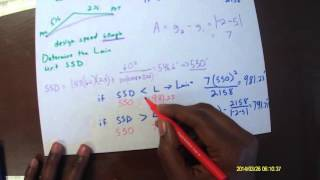 Video 2 Crest Curve Example 1