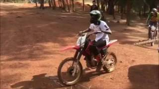 Dc Young Fly TRIES to show off his DIRT BIKE SKILLS and falls!