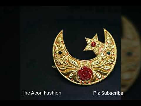Latest Gold Designer Chandrama Designs