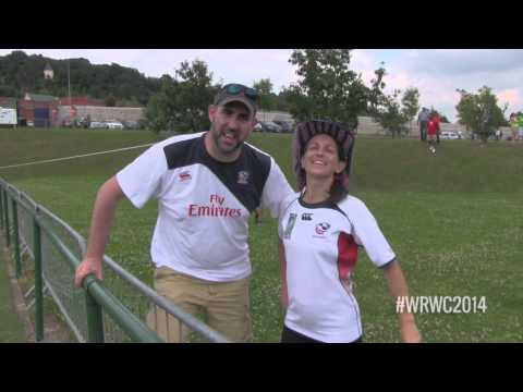 WRWC 2014 - USA Women's Eagles vs Ireland Game Day