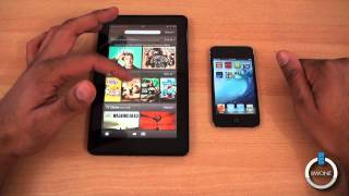 Kindle Fire vs iPod Touch - BWOne.com