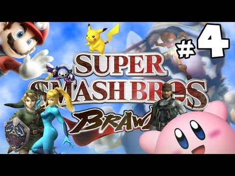 Super Smash Bros Brawl w/ Ethan - PART 4 - Going Bananas!