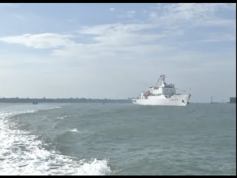 Law Enforcement Vessel Completes First Patrol in South China Sea