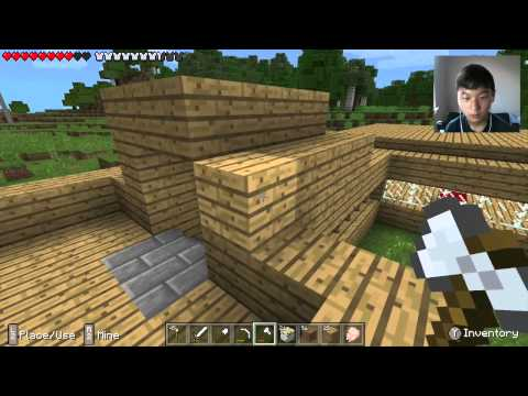 Minecraft PE Survival: Ep. 18 Bedroom