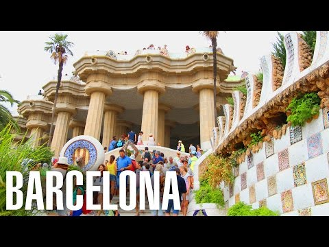 Парк Гуэль★Развлечения в Барселоне★Что посмотреть в Барселоне