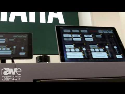 ISE 2017: Yamaha Music Europe Exhibits Pro Visionaire Touch Control Service